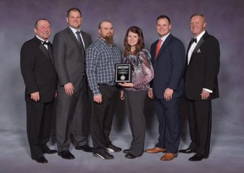 Kimmons Roofing and Ventilation Company Award